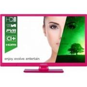 Televizor LED 61cm Horizon 24HL7102H HD Roz 3 ani garantie