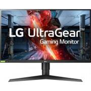 "LG - UltraGear 27"" IPS LED QHD FreeSync Monitor with HDR (HDMI) - Black"