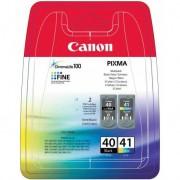 Canon PG-40/CL-41 Negro, Cian, Magenta, Amarillo cartucho de tinta