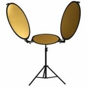 Kathay KBRHK-B Triflector - Set 3 blende cu brate si stativ