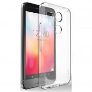 Husa Protectie Spate Ringke Slim Crystal transparenta plus folie protectie display pentru LG Nexus 5X 2015