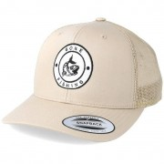 Hunter Keps Gone Fishing Logo Khaki Trucker - Hunter - Beige Trucker