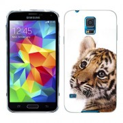 Husa Samsung Galaxy S5 Mini G800F Silicon Gel Tpu Model Little Tiger