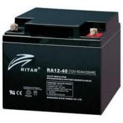 RA12-40 12V 40 Ah Zárt ólomzselés akkumulátor (RITAR)