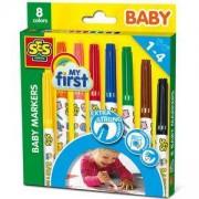 Комплект фулмастери за малки деца, SES, 080362