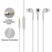 YR Samsung Compatible Ultra High Bass IN-Ear Earphone With MIC and Remote Volume up and Down For all Samsung Devices (Wh