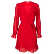 Fashionize Jurk Ruches Rood