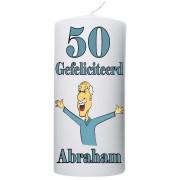 Verjaardagskaars 50 jaar Abraham