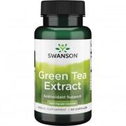 Swanson Zelený čaj (Green Tea) Extract 500 mg 60 kapslí