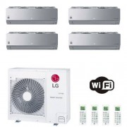 LG Condizionatore Quadri Split 12+12+12+12 Btu ARTCOOL Silver 12000 12000 12000 12000 R-32 MU5R30.U40 3.5+3.5+3.5+3.5 kW WiFi