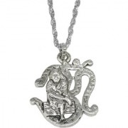 Sullery Religious Jewelry Lord Om Sai Baba Pendant Necklace