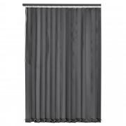 [neu.haus]® Cortina vertical de laminilla - persiana - 150x250 cm - Gris
