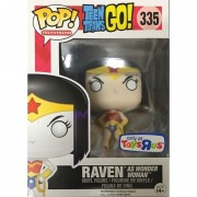 Funko Pop 335 Raven As Wonder Woman Toys R Us Sticker Exclusive