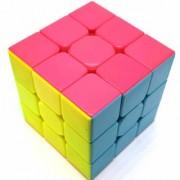 QiYi Warrior W 3x3 Stickerless Rubik's Cube Speed Cube Magic Cube - Super Smooth Cube.