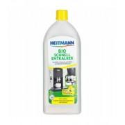 Bio decalcificator cu actiune rapida pentru aparate de uz casnic, Heitmann, 250 ml