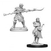 Set Figurine Dungeons And Dragons Nolzur's Unpainted Yuan-Ti Purebloods Adventurers