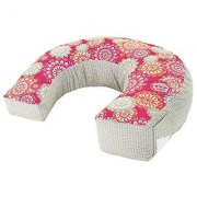 Perfect Position 4-in-1 Nursing Pillow Cover Pink Hibiscus