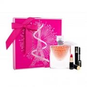 Lancôme La Vie Est Belle L´Eclat подаръчен комплект EDP 50 ml + червило L´Absolu Rouge Matte 378 Rose 1,6 g + спирала Hypnose 2 ml за жени