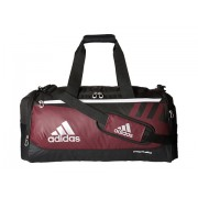 adidas Team Issue Small Duffel Maroon