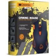 Мишка Canyon Corax CND-SGM5N, оптична (6500 dpi), USB, черна