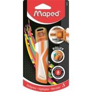 Szövegkiemelő roller, 5 mm, MAPED Fluo Peps, narancssárga (IMA746325)