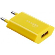 Incarcator Retea Abc Tech 128460, USB, 1A (Galben)