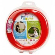 Toaleta portabila tip olita pentru copii, Potette Plus rosie