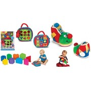 Take Along Shape Sorter And Learning Shoe Baby And Toddler Learning Toy 2 Set Combo