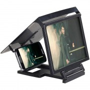 Callstel Smartphone & iPhone Acryl Lupe mit 3x Vergrösserung