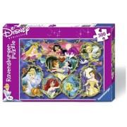Puzzle printesele Disney, 300 piese Ravensburger