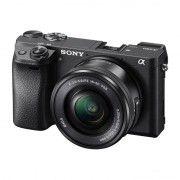 Sony Alpha A6300 systeemcamera Zwart + 16-50mm OSS - Occasion