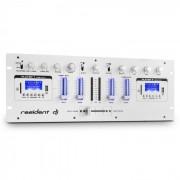 DJ405USB Mixer Dj 4 Canali 2 x Bluetooth USB SD AUX Funzione Registrazione