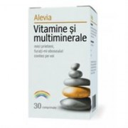 Vitamine si Multiminerale Alevia 30cpr