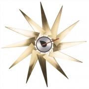 dominidesign © wandklok Windmill clock metaal