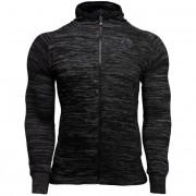 Gorilla Wear Keno Zipped Hoodie - Black/Gray - S