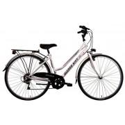 "Bicicleta City 28"" Good Bike Universal 6V, 44cm/S (Alb)"