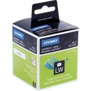 Dymo 99017 (S0722460) Etiket Zwart op wit (12 mm x 50 mm)