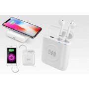 Apple Bluetooth Earbuds - Powerbank & Wireless Charger!