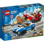 Lego set de construcción lego city policía: arresto en la autopista 60242