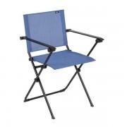 Lafuma Anytime Campingsessel Stahl/Batyline®Duo Schwarz Blau