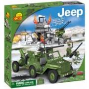Set de construit Jeep pentru traseu montan 300 piese - Cobi