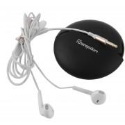 ER E6 Teléfonos Universal Super Stereo Bass Half-In De Aislamiento De Ruido Auriculares De Botón -Blanco