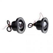 ELECTROPRIME® Blue 3.5'' LED COB Projector Fog Driving Lamp Angel Eye Halo Ring DRL