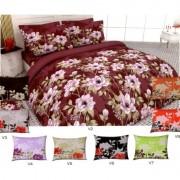 Спален комплект Ранфорс THE FLOWERS – 100% Памук