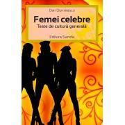 Femei celebre. Teste de cultura generala (eBook)