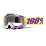 100% Accuri Gafas de Motocross Blanco Lila un tamaño