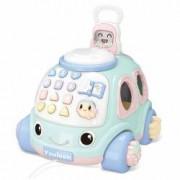 Masina Educativa Cu Telefon Smiley Kid