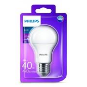 Philips LED žárovka klasická A60 230V 5W E27 noDIM Matná 470lm 6500K Plast A+ 15000h Blistr 1ks studená bílá