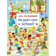 Deltas We Gaan Naar School! Kijk- en Zoekboek