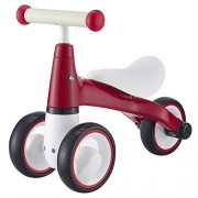 BEKILOLE Baby Balance Bikes Bicycle Children Walker | 12-24-36 Months No Foot Pedal Infant Three Wheels Tricycle First Bike, Red